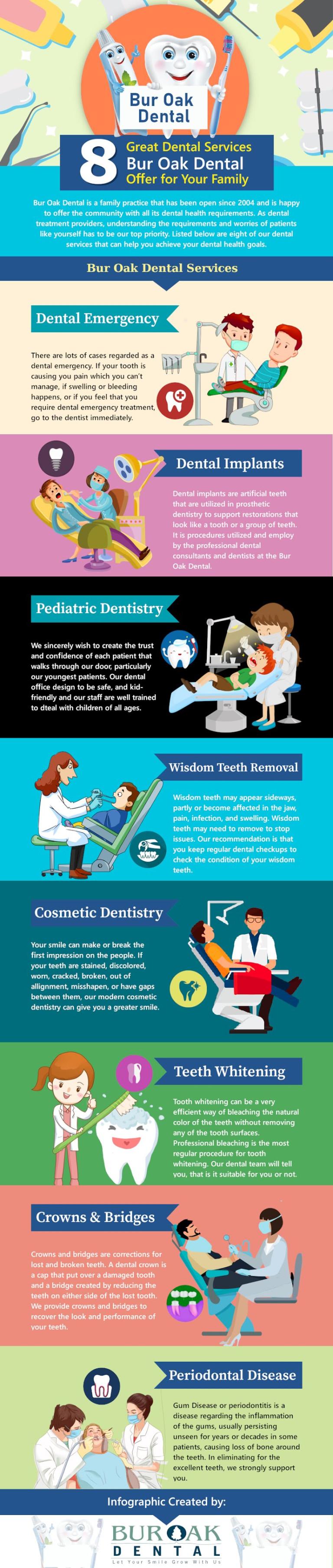 8 Great Dental Services Bur Oak Dental Offer for Your Family